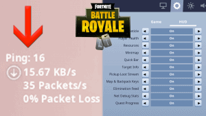 How To See Your Ping In Fortnite
