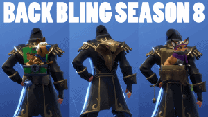 All New Back Bling From Season 8 Fortnite