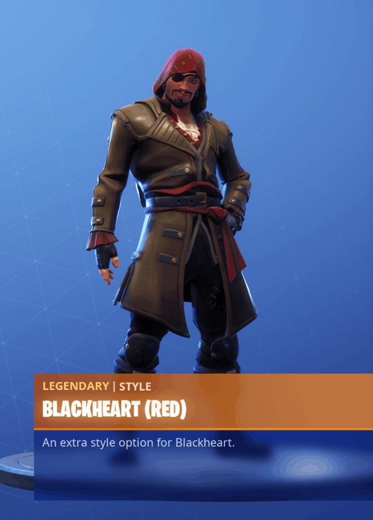 Red fortnite skin
