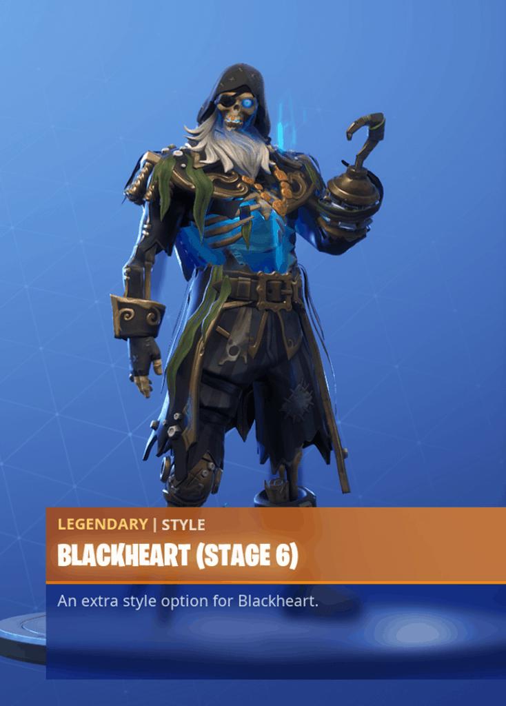 Fortnite Blackheart skin stage 6 season 8 battle pass
