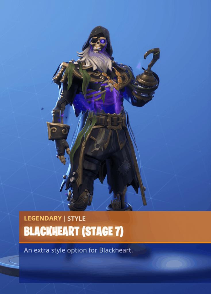 Fortnite Blackheart skin stage 7 season 8 battle pass