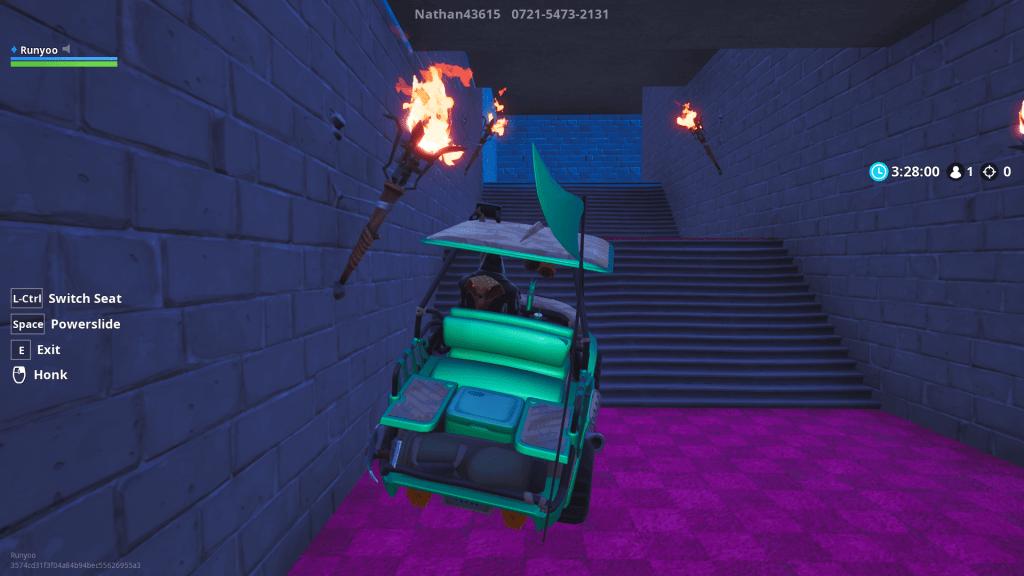 Bowser's Castle map code Fortnite creative mode