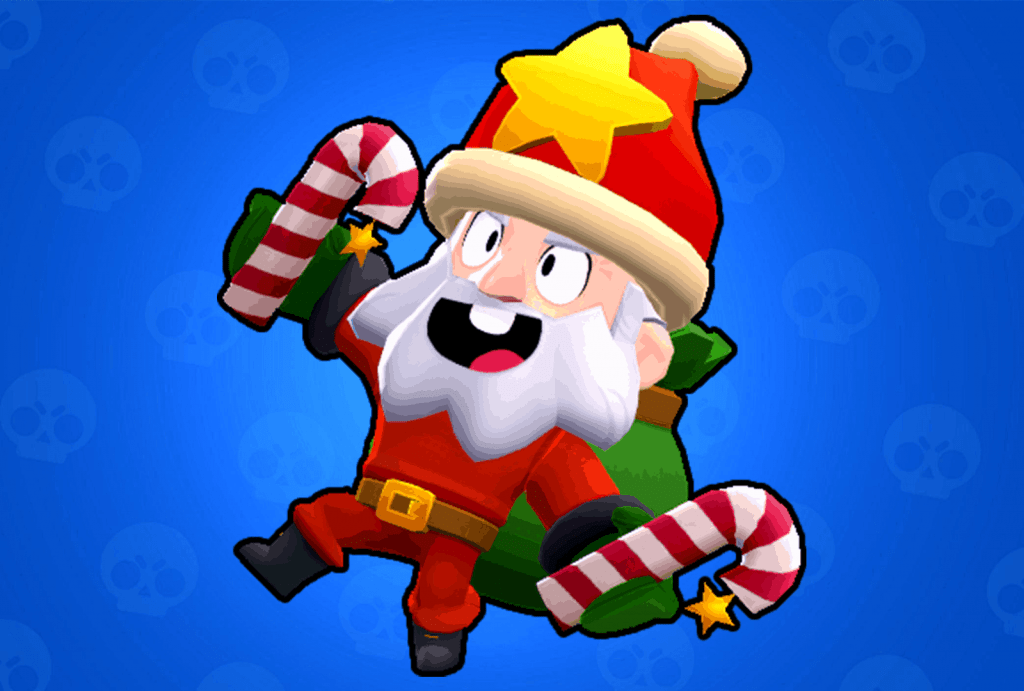 Dynamike Santa skin Brawl Stars