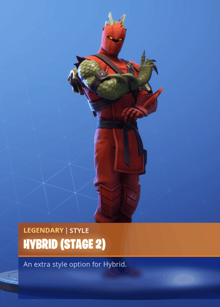 fortnite hybrid skin stage 2 season 8 battle pass - fortnite kenji png