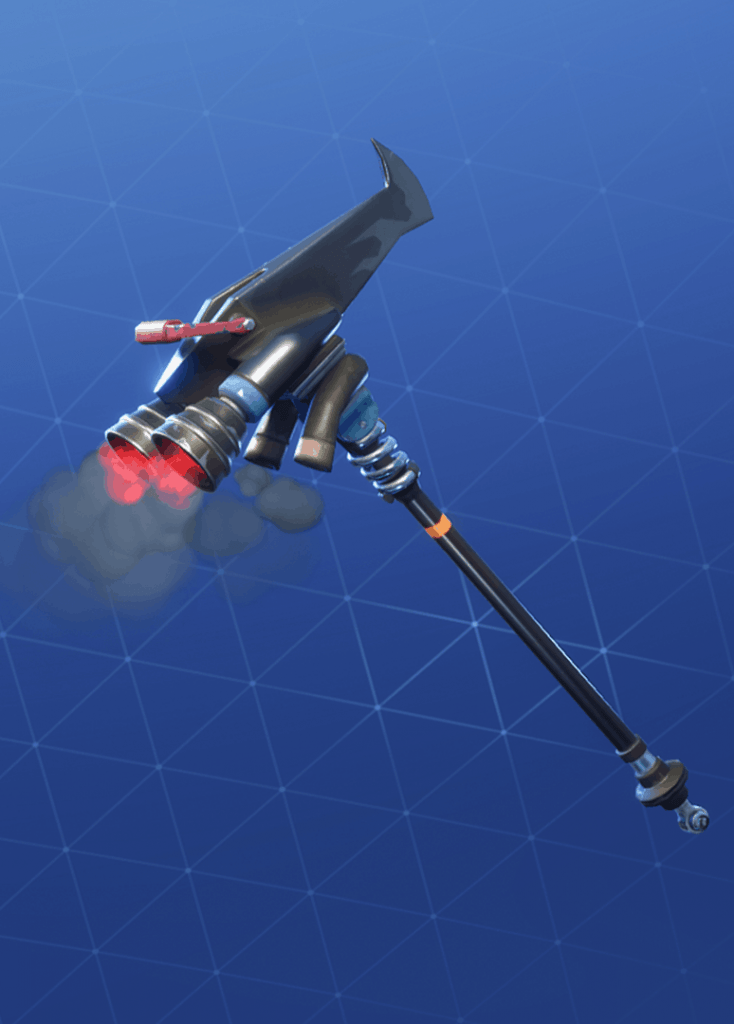 mauler pickaxe rhino style fortnite season 8 - shark pickaxe fortnite