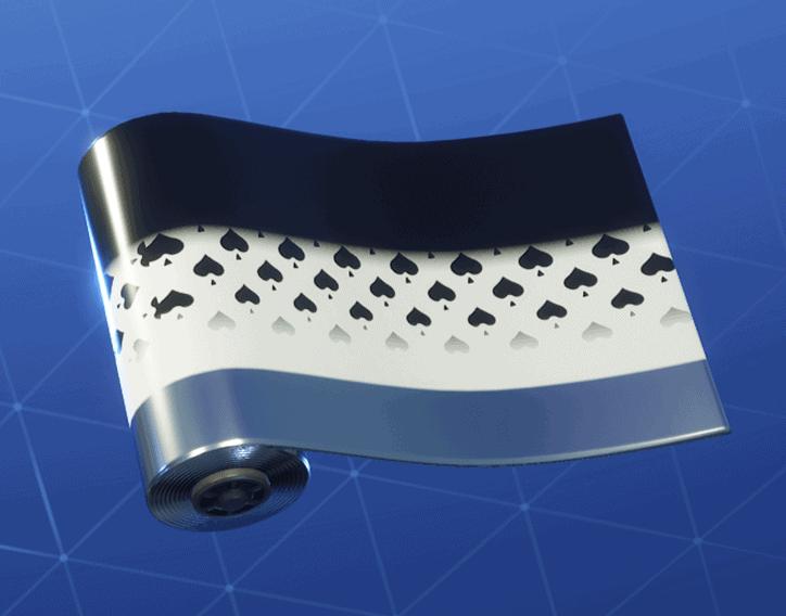 Spades Wild Card weapon wrap Fortnite season 8
