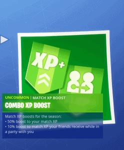 Tier 1 Combo XP boost
