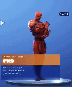 Tier 1 Hybrid skin