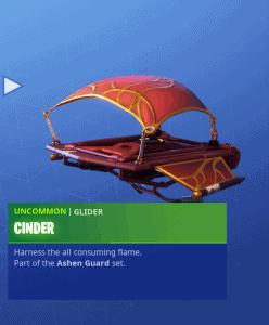 Tier 30 Cinder glider