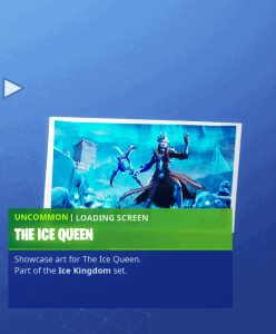Tier 30 The Ice Queen loading screen