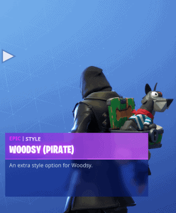 Tier 35 Woodsy Pirate back bling
