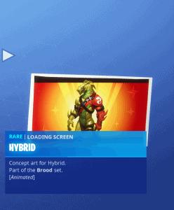 Tier 50 Hybrid loading screen