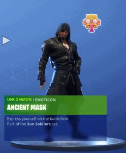 Tier 53 Ancient Mask emoticon