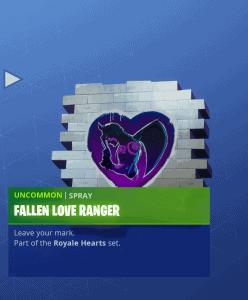 Tier 54 Fallen Love Ranger spray