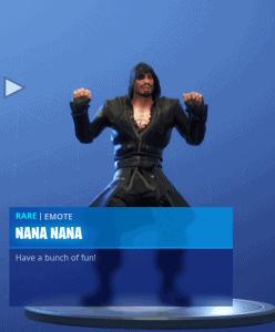 Tier 63 Nana Nana emote