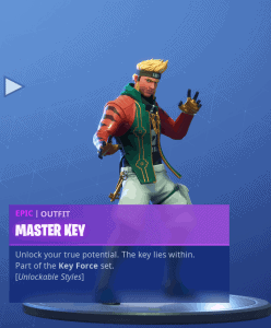 Tier 87 Master Key skin