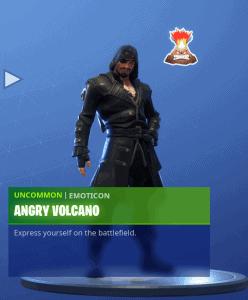 Tier 89 Angry Volcano emoticon