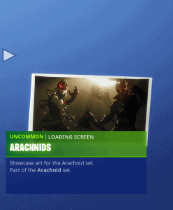 Tier 94 Arachnids loading screen