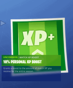 Tier 96 10% personal XP boost