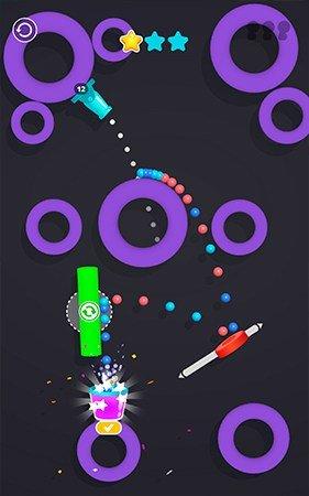 Cannon shot gameplay screenshot