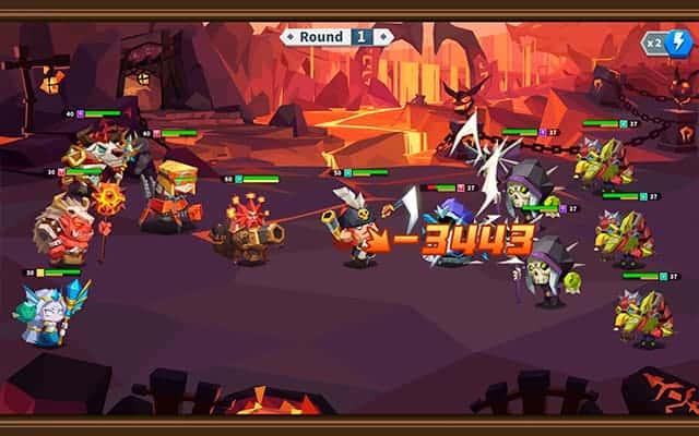 Epic Summoners 2 gameplay screenshot