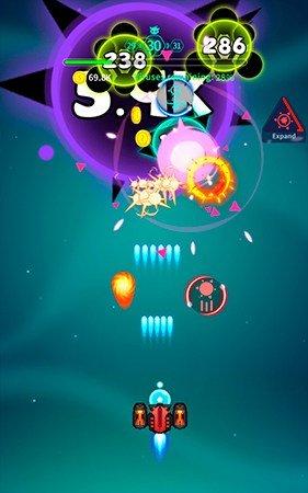 Virus War mobile game gameplay screenshot