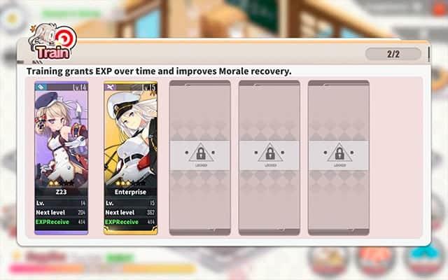 Azur Lane dorm extra slots unlock