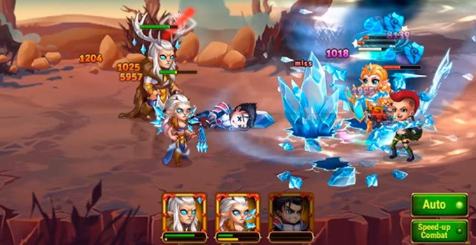 Hero Wars Lars and Krista combo and synergy