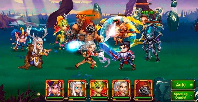 Hero Wars balance of roles