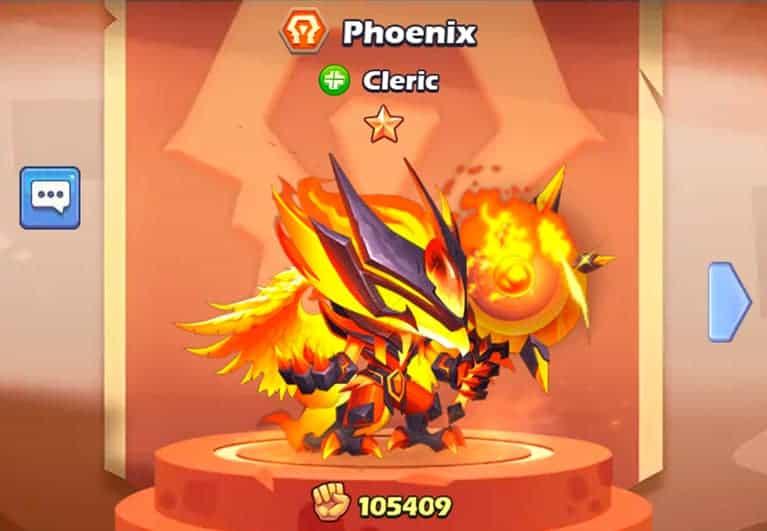 Phoenix hero Taptap Heroes