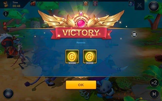 Idle War coins reward screenshot