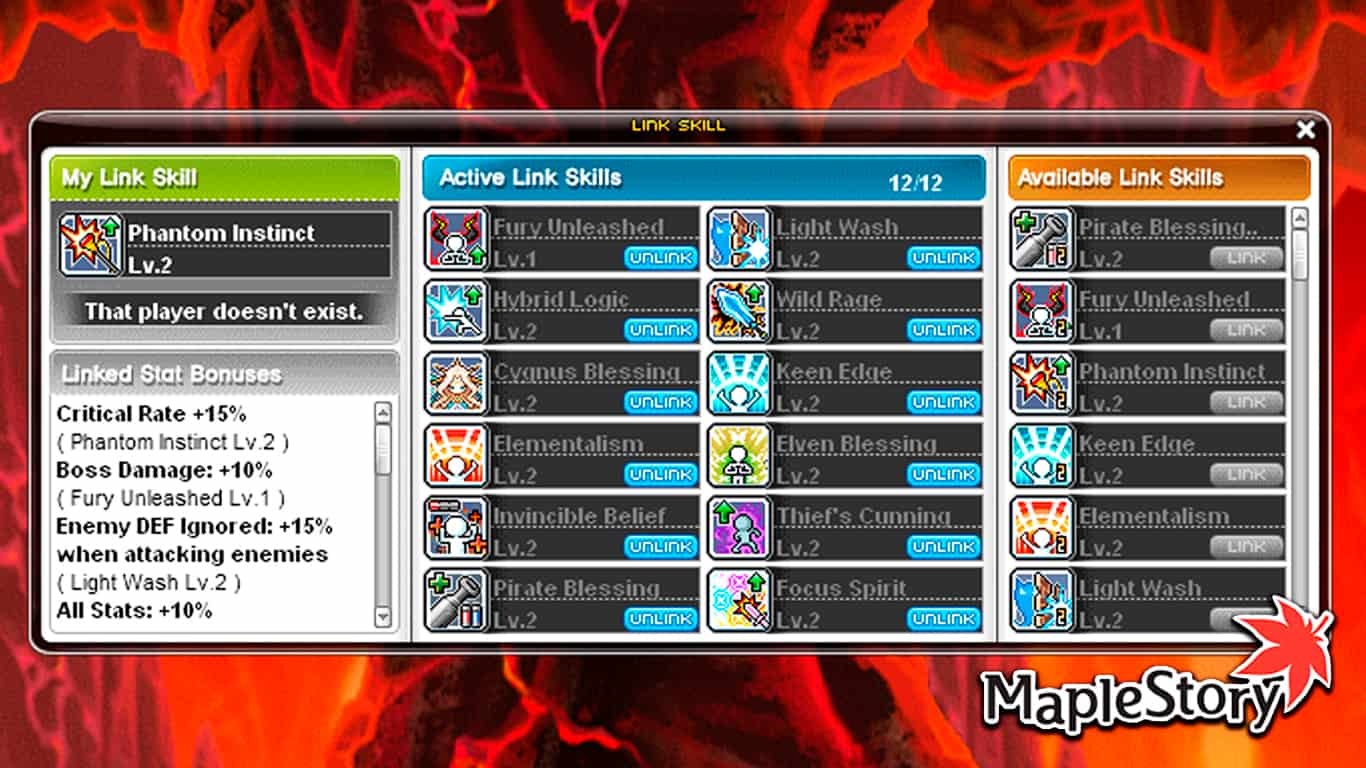 Read more about the article Maplestory – Best Link Skills 2021 & All Link Skills List