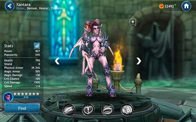 Dragon Champions Xantara hero