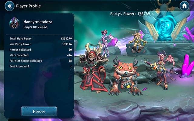 Dragon Champions demon team