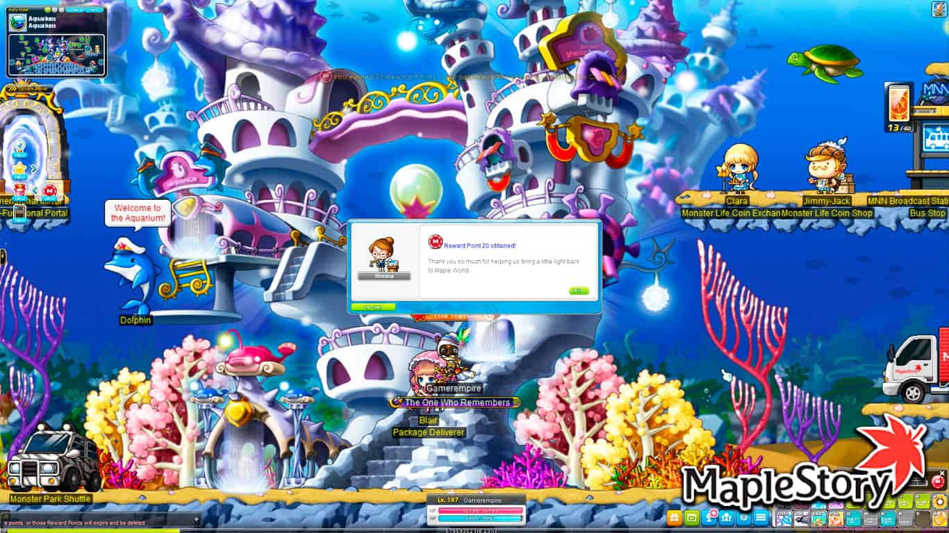 Read more about the article Maplestory – How To Get Reward Points