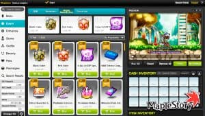 Maplestory – How To Use Reward Points