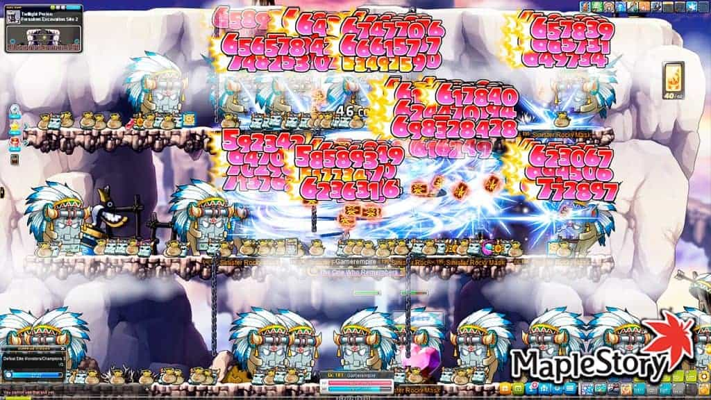 Maplestory Level 1-275 Training Guide (Reboot & Normal)