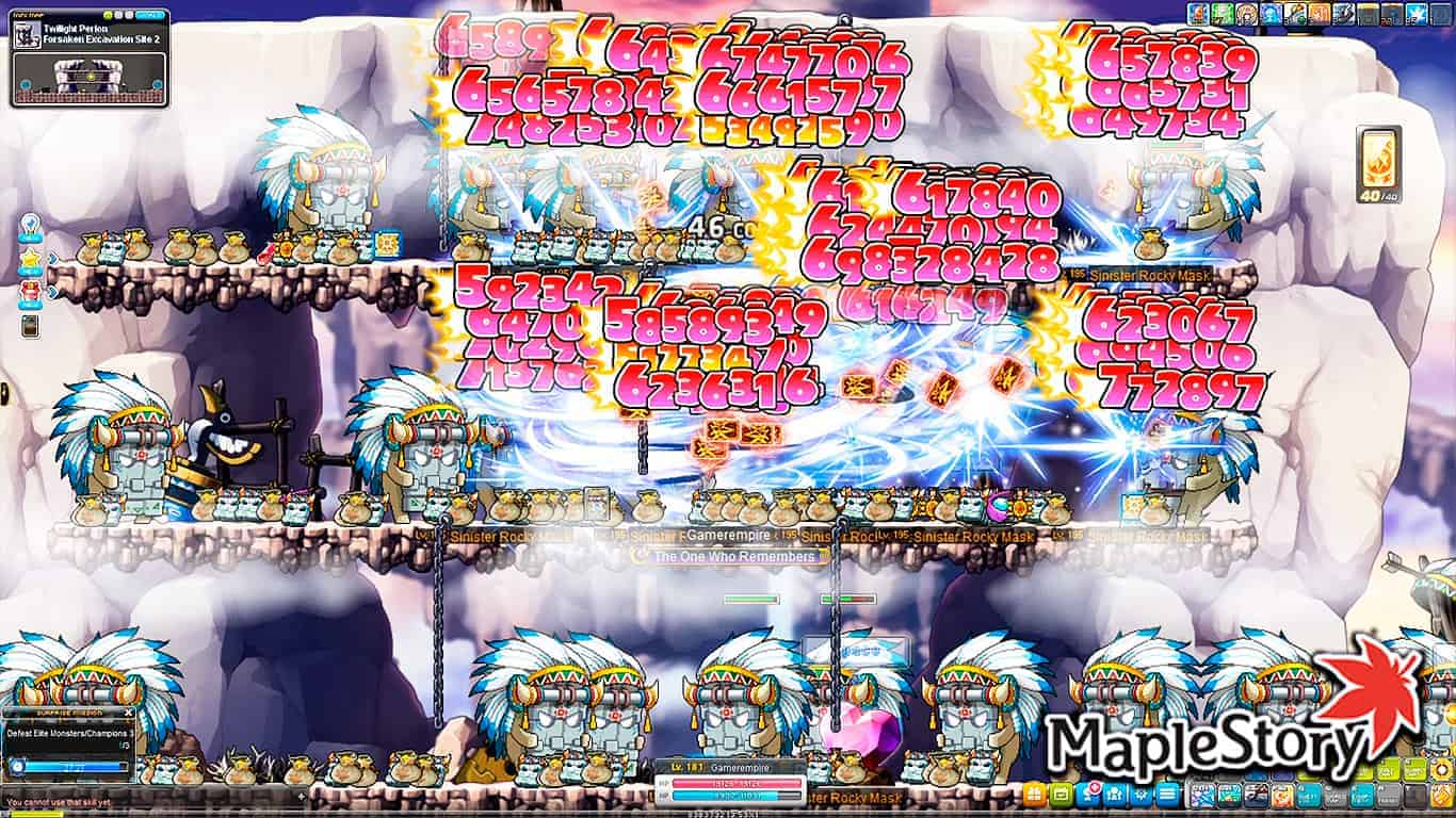 Maplestory – Level 1-275 Training Guide April 2021 (Reboot & Normal)