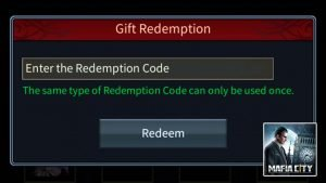 Mafia City – Redemption Codes List (April 2021) and How To Redeem Codes