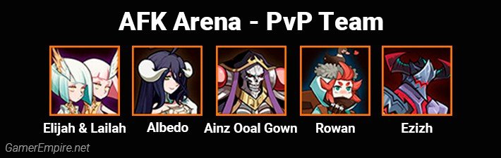 AFK Arena Best Team For PvP Ainz Comp
