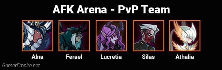AFK Arena Best Team For PvP Athalia and Alna Comp