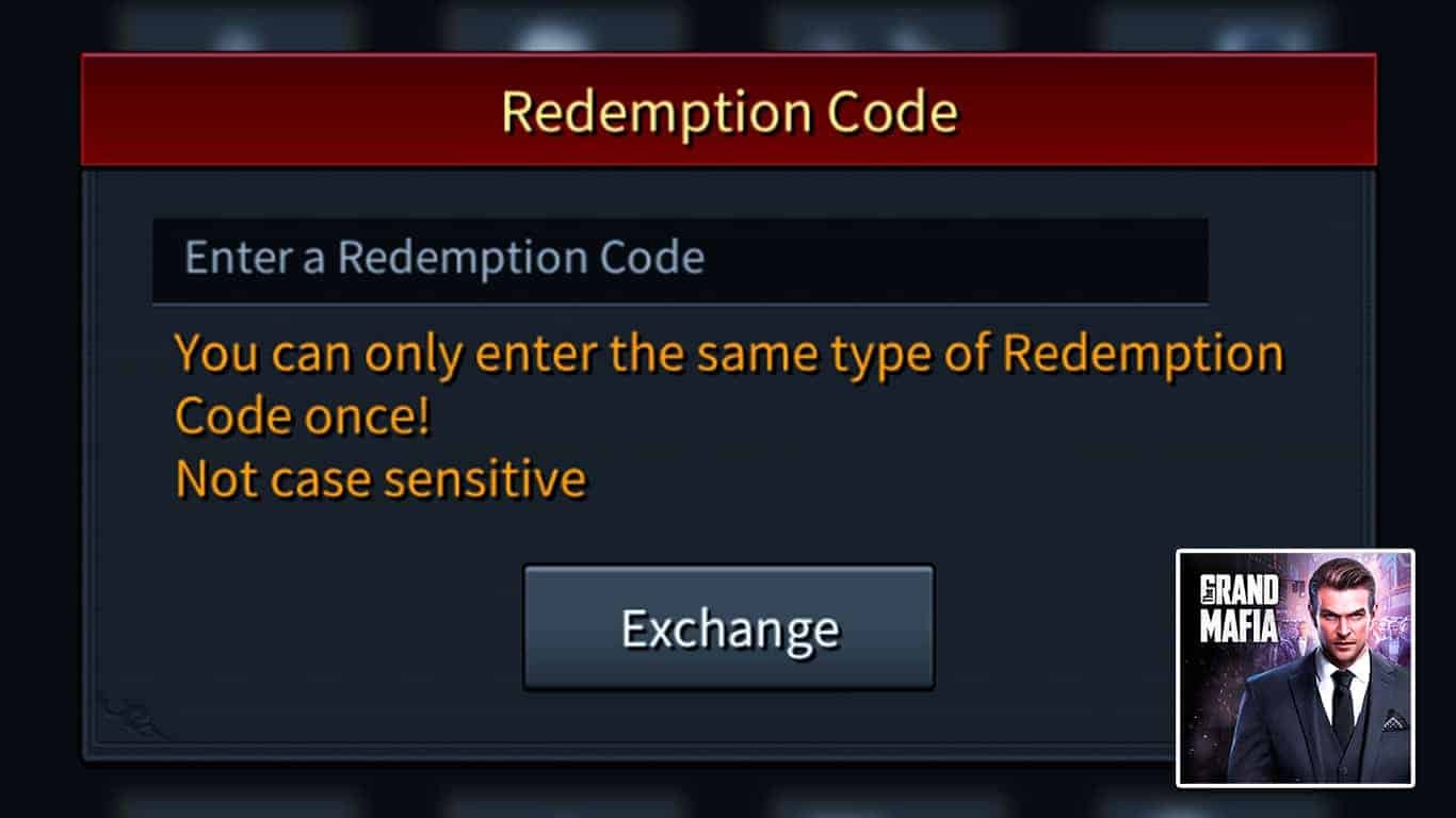 The Grand Mafia – Redemption Codes List (April 2021) & How To Redeem Codes