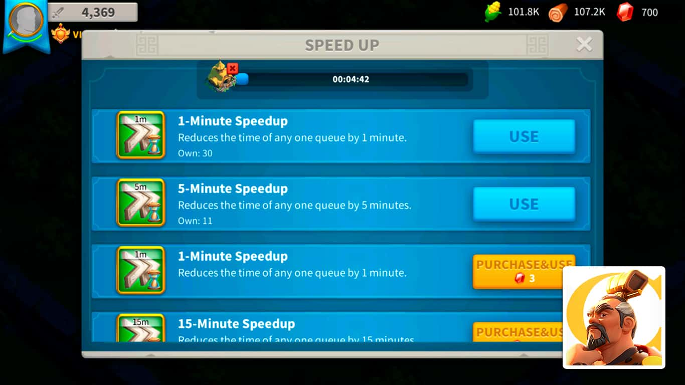 Read more about the article Rise of Kingdoms – How To Get Speedups