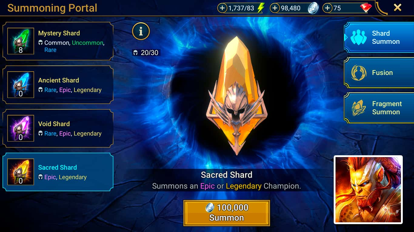 RAID: Shadow Legends – How To Get Shards (Sacred, Void, Ancient, Mystery)