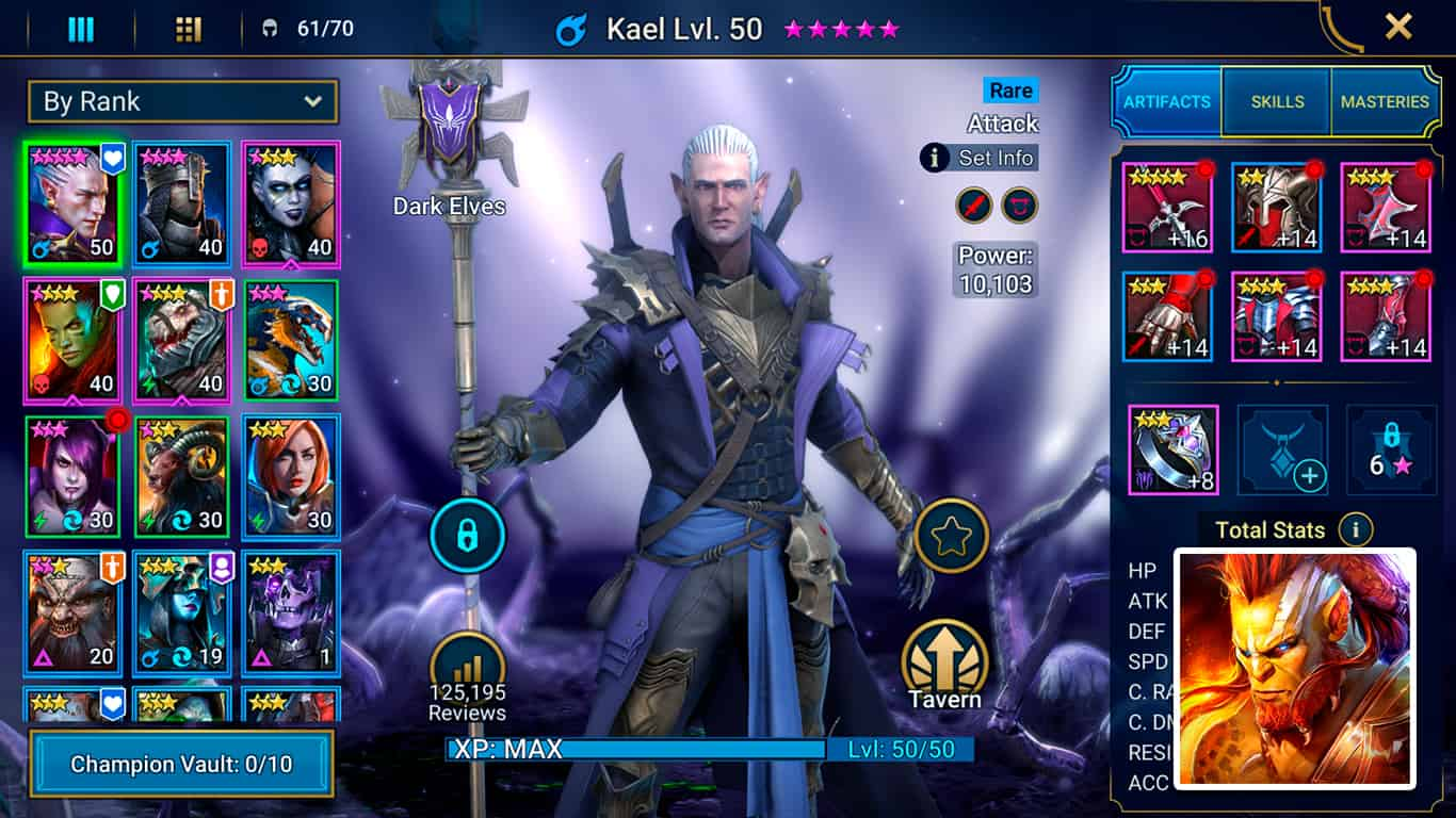 Read more about the article RAID: Shadow Legends – Kael Guide: Artifacts & Masteries Build, Skills