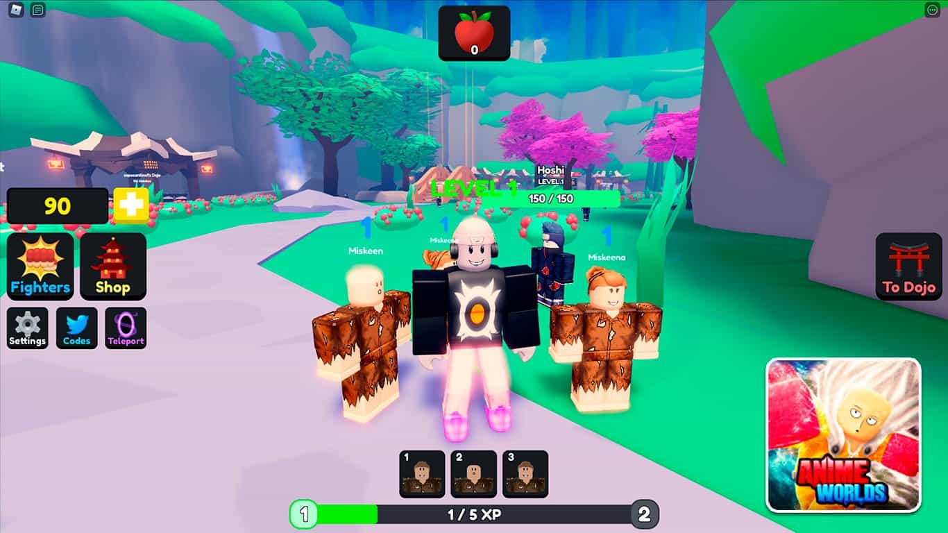 Read more about the article Anime Worlds Simulator (Roblox) – Codes List (October 2021) & How To Redeem Codes