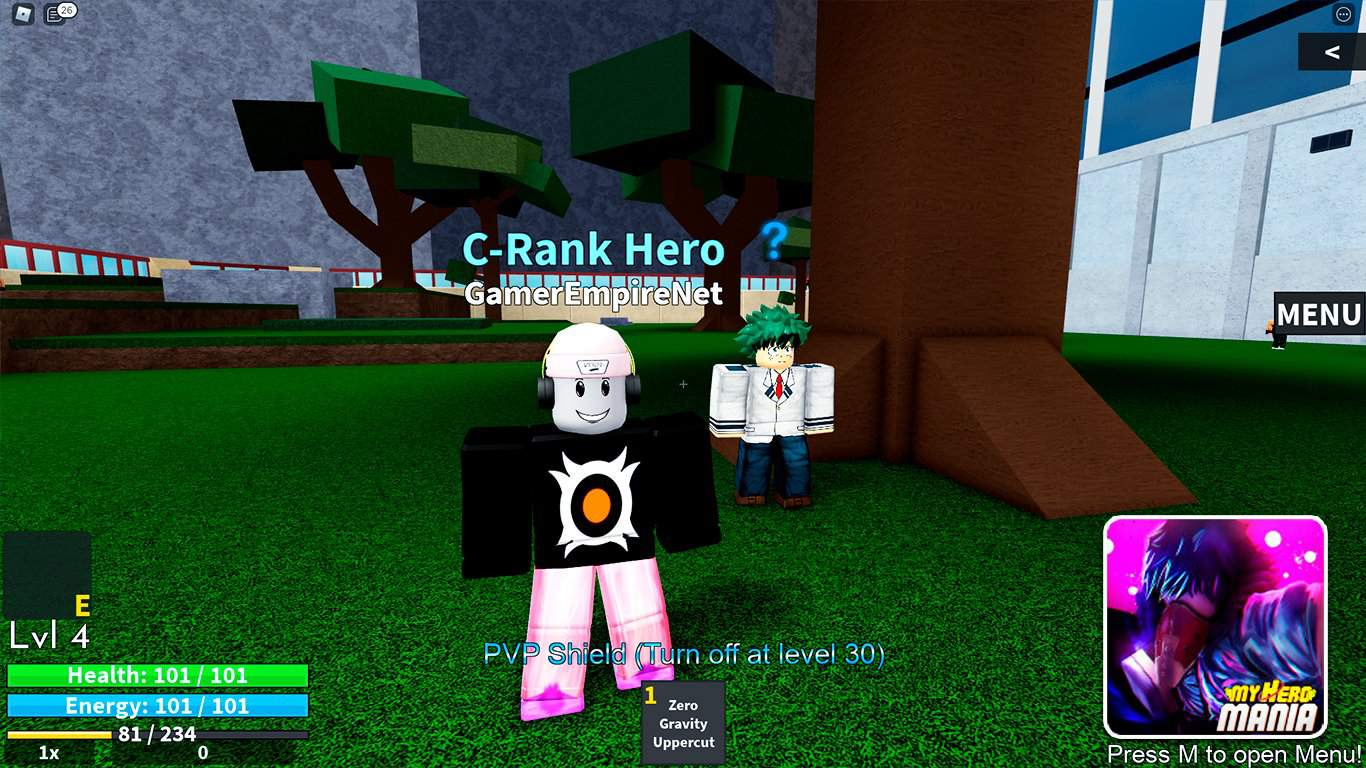 Read more about the article My Hero Mania (Roblox) – Codes List (October 2021) & How To Redeem Codes