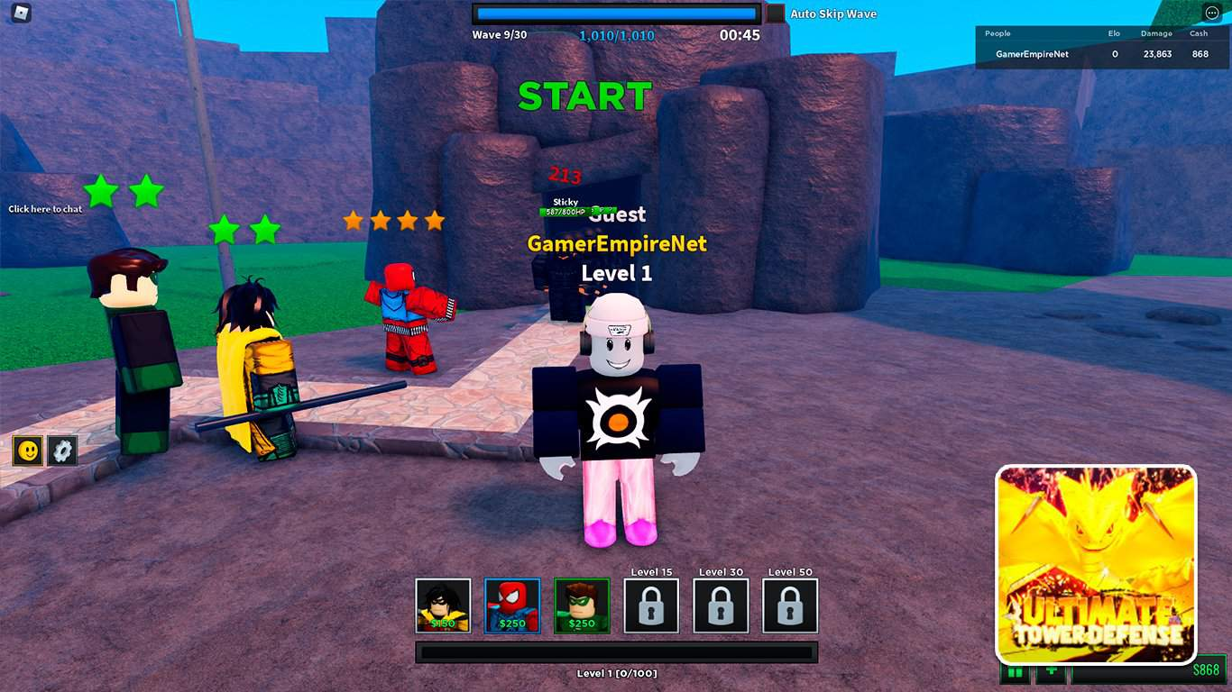 Read more about the article Ultimate Tower Defense Simulator (Roblox) – Codes List (October 2021) & How To Redeem Codes